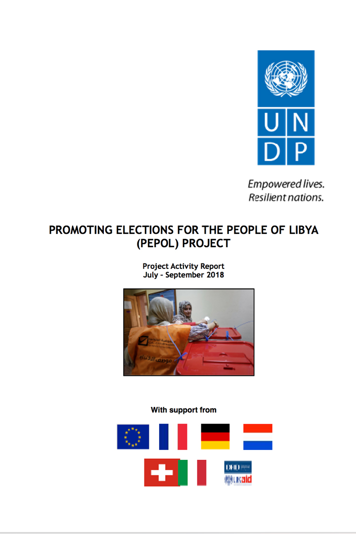 ec-undp jtf libya project activity report